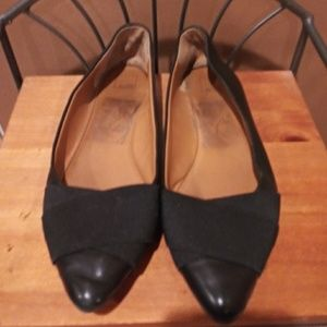 14th & Union Stylish Black Flat Loafers Size 8.5